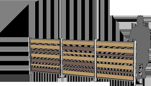 Fencing - Modwood Slats