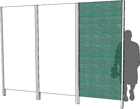 Privacy Screen - Shadecloth