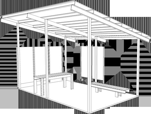 Kitchen Shelter + Slab